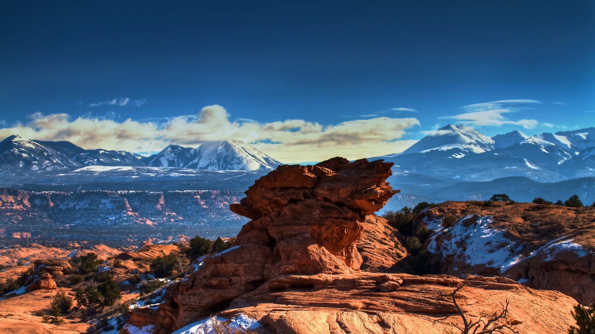 Moab Utah Mountains - High Definition Wallpapers - HD wallpapers