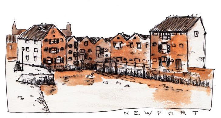 Newport, Quay-Art