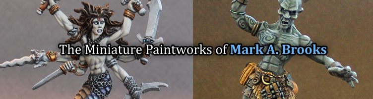 Painted Miniatures by Mark A. Brooks