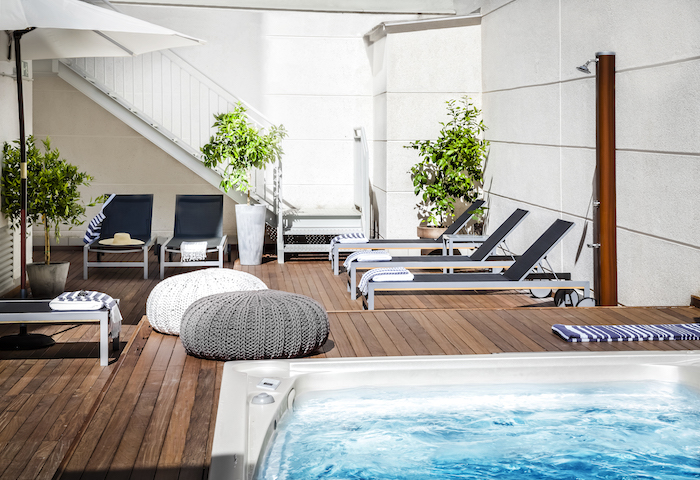 piscina Eric Vökel apartamentos