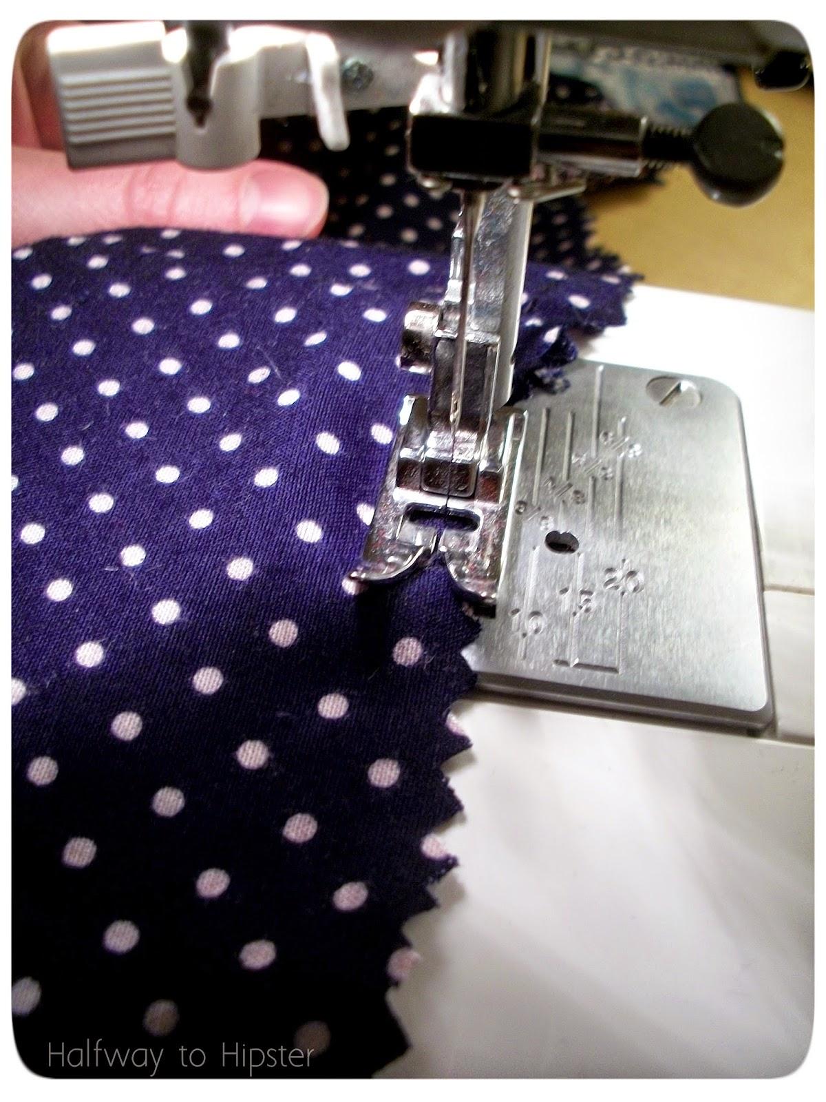 Polka Dot Skirt Refashion
