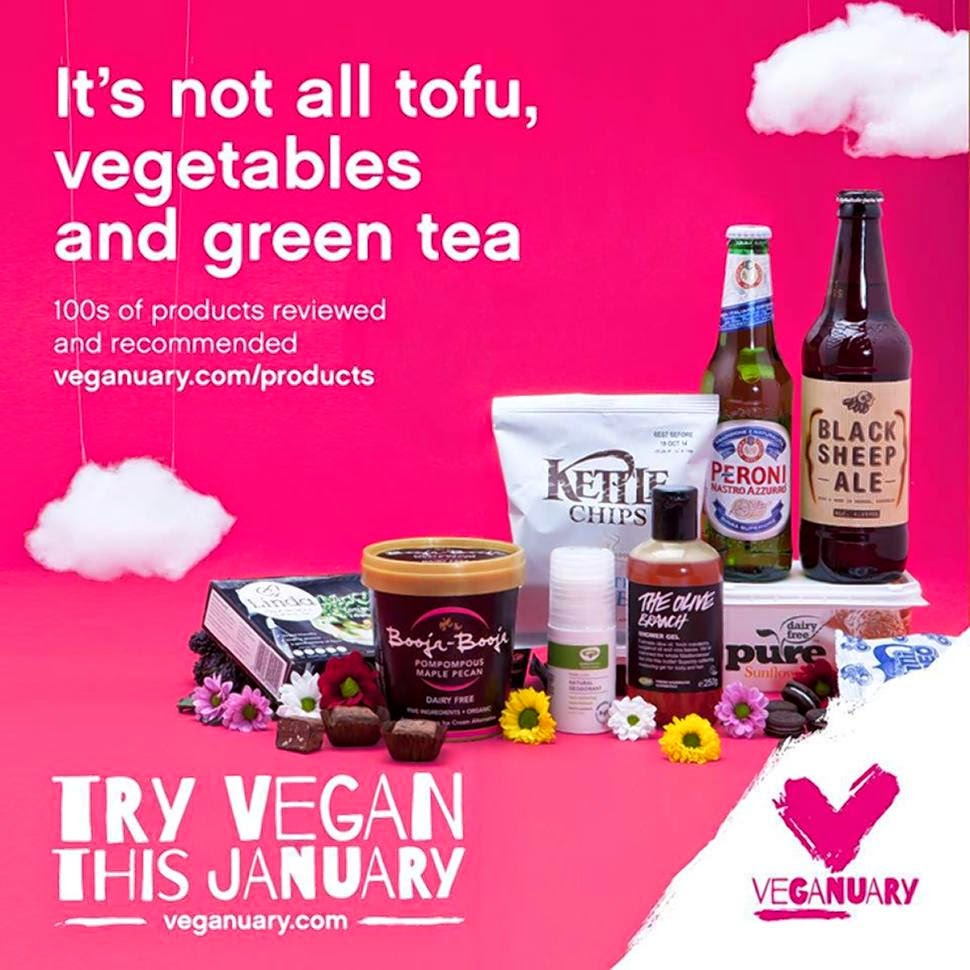 VEGANUARY FOOD