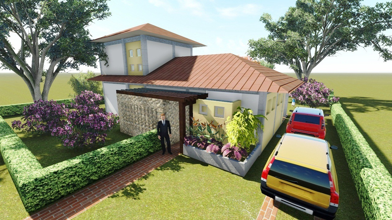 Ideark cali softwares aplicados a dise o ingenieria y Disenos de fachadas de casas de una planta
