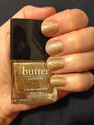 butter LONDON, butter LONDON West End Wonderland, butter LONDON nail polish, butter LONDON nail lacquer, butter LONDON nail varnish, nails, manicure