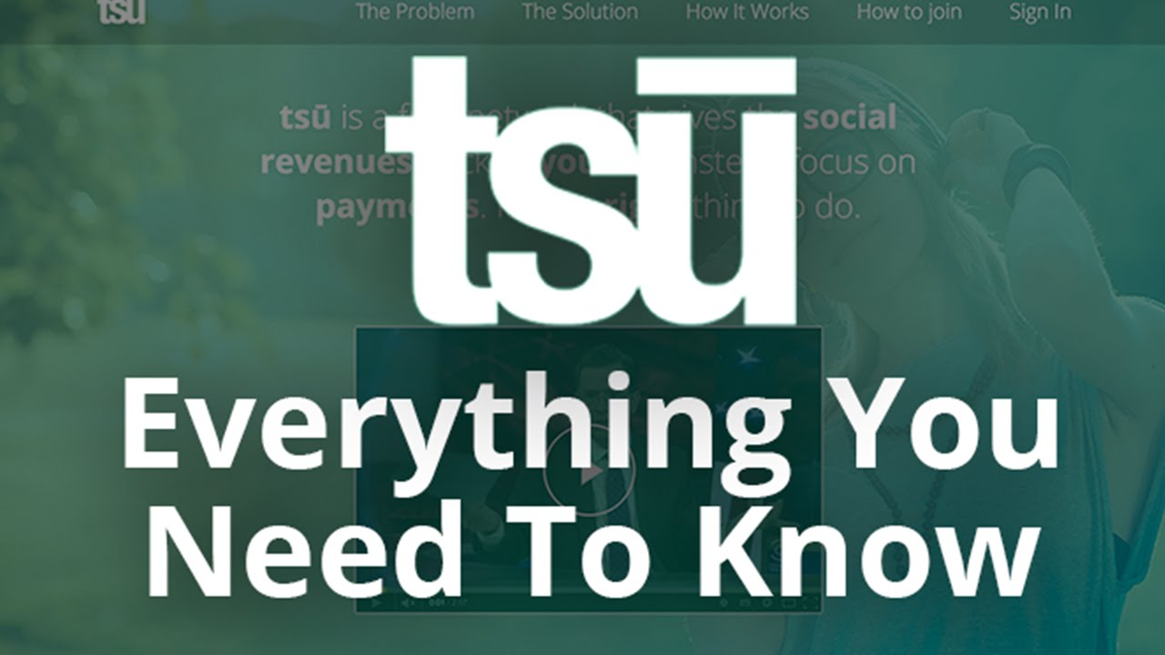 how to make money with tsu