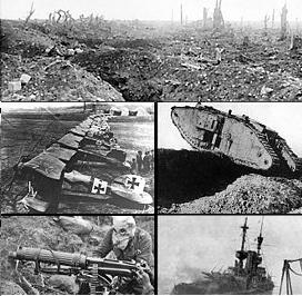 Sejarah Perang Dunia I: Latar Belakang, Kronologis, Penyebab, Akibat