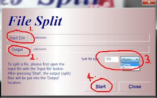 HJ-Split split action