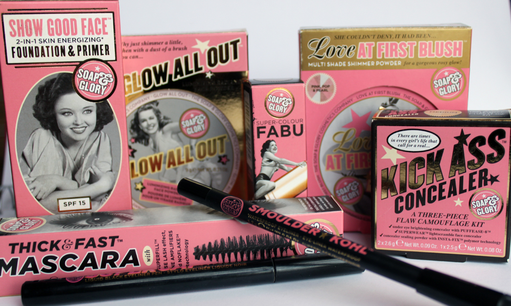 Soap & Glory Cosmetics - A Little Obsessed