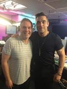 Chris Moyles and Robbie @robbiewilliams