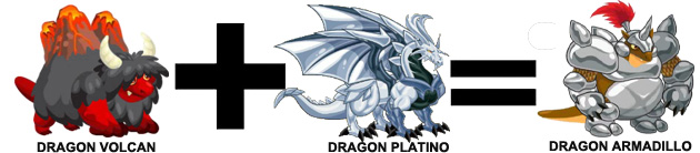 como sacar el dragon armadillo en dragon city combinaion 3