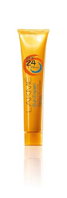 Lakmé Sun Expert Cucumber and Lemongrass Fairness Sunscreen