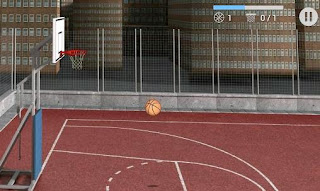 Screenshots of the Basketball hit for Android tablet, phone.
