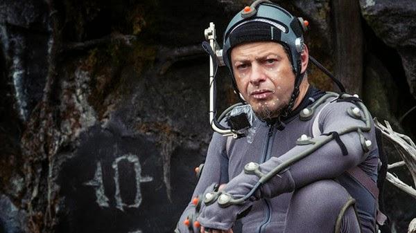 amanecer del planeta de los simios, andy serkis, actor, digital, cesar, el zorro con gafas