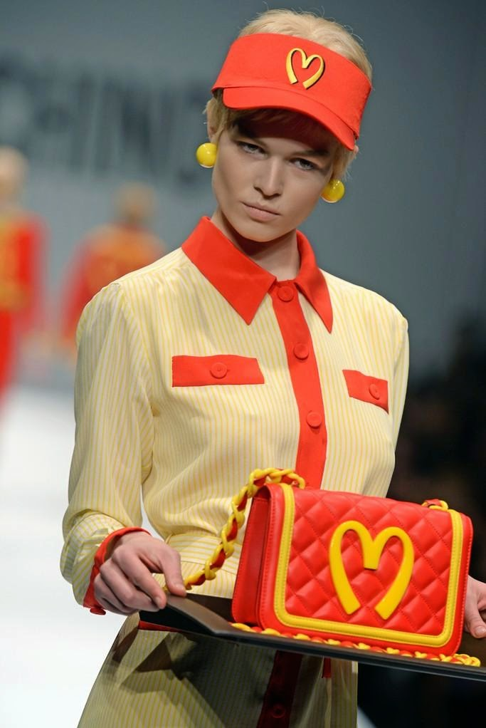 http://en.paperblog.com/moschino-2014-collection-dressed-up-in-mcdonald-s-812844/