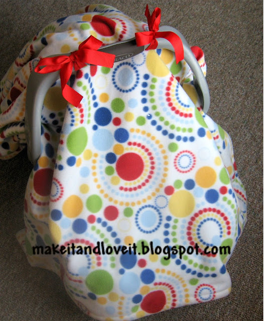 car seat cover sewing tutorial