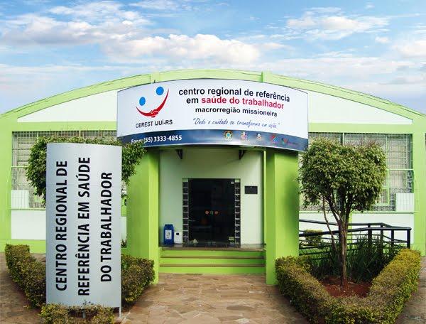 CEREST IJUÍ-RS centro regional de referência em saúde do trabalhador - macrorregião missioneira