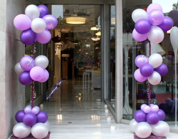 La guarida de bam decorar con globos - Globos para decorar ...