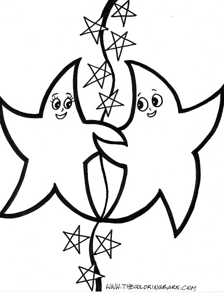 Dance Star Coloring Pages