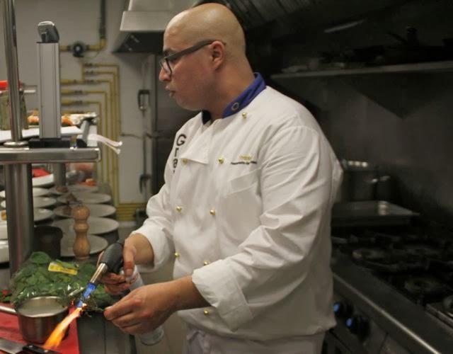El Chef Youssef Zairi en el Restaurante Granvía uno. Blog Esteban Capdevila