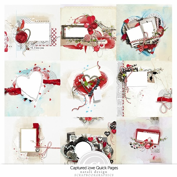http://shop.scrapbookgraphics.com/Captured-Love-Quick-Pages.html