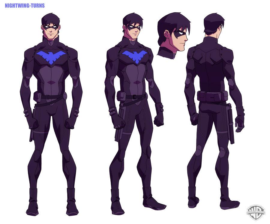 "YOUNG JUSTICE: Nightwing"" by Phil Bourassa aka philbourassa"