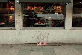Arte urbano con Papas, Instalaciones por Peter Pink