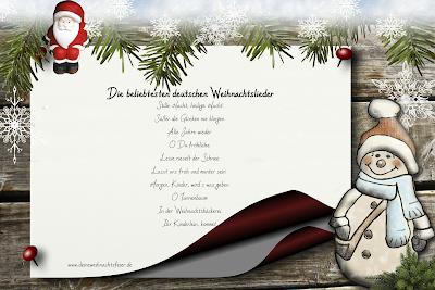 beliebteste deutsche Weihnachtslieder