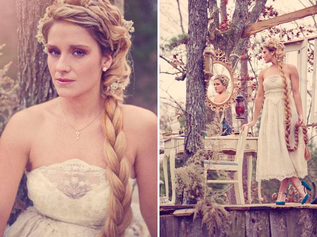 Tangled Inspired Wedding Dress Tangled Inspired Wedding