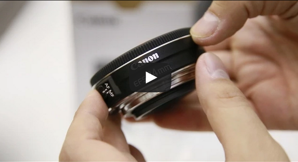 Canon EF-S 24mm f/2.8 STM 'Pancake' Lens Review - YouTube Video
