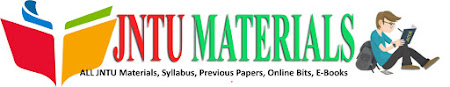 JNTU MATERIALS-M.Tech R13 R16 1st Sem Materials, E-Books, Notes