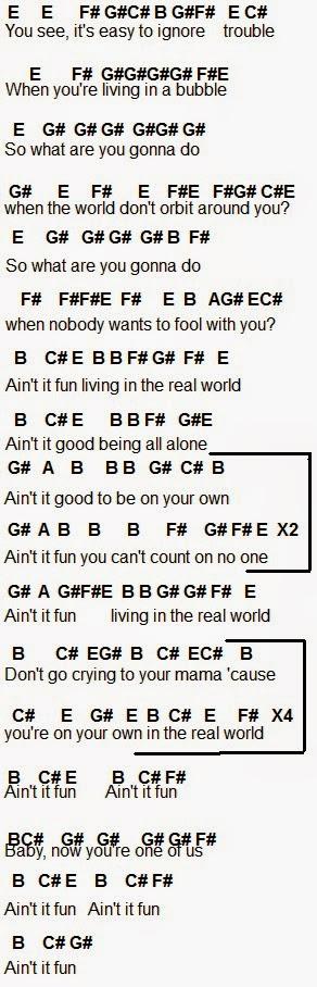 Flute Sheet Music Aint It Fun