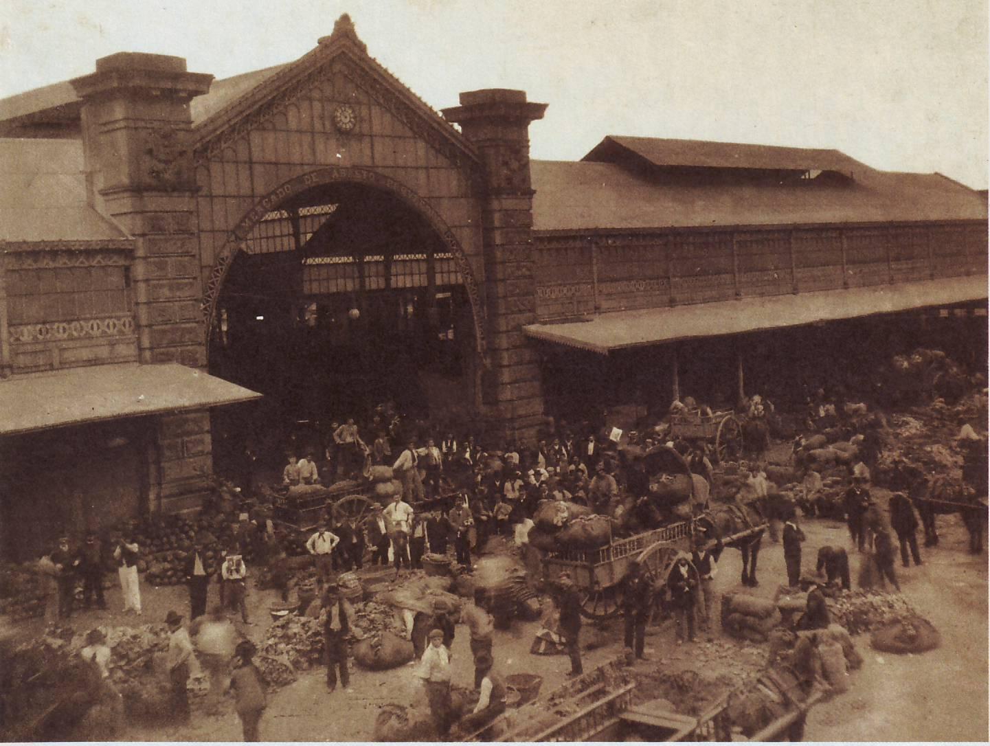 El antiguo Mercado de Abasto (1925)