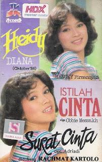 Heidy diana - Istilah Cinta 1984