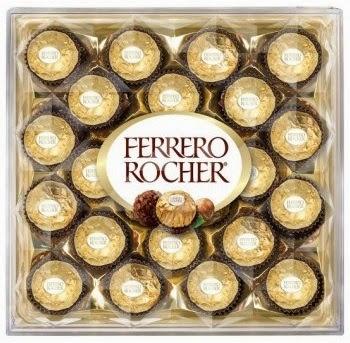 Ferrero Rocher giveaway