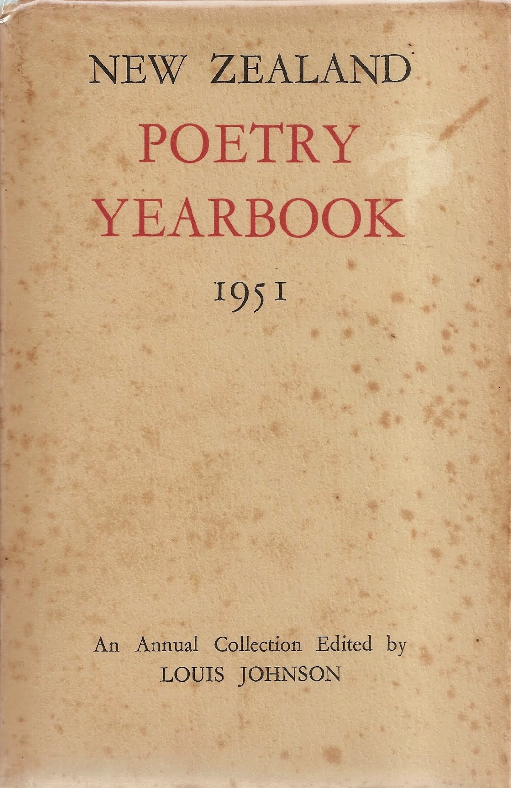 NZ Poetry Yearbook 1