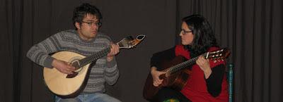 Alexandre fadista y luthier portugues en El Huerto de Roque Burgos