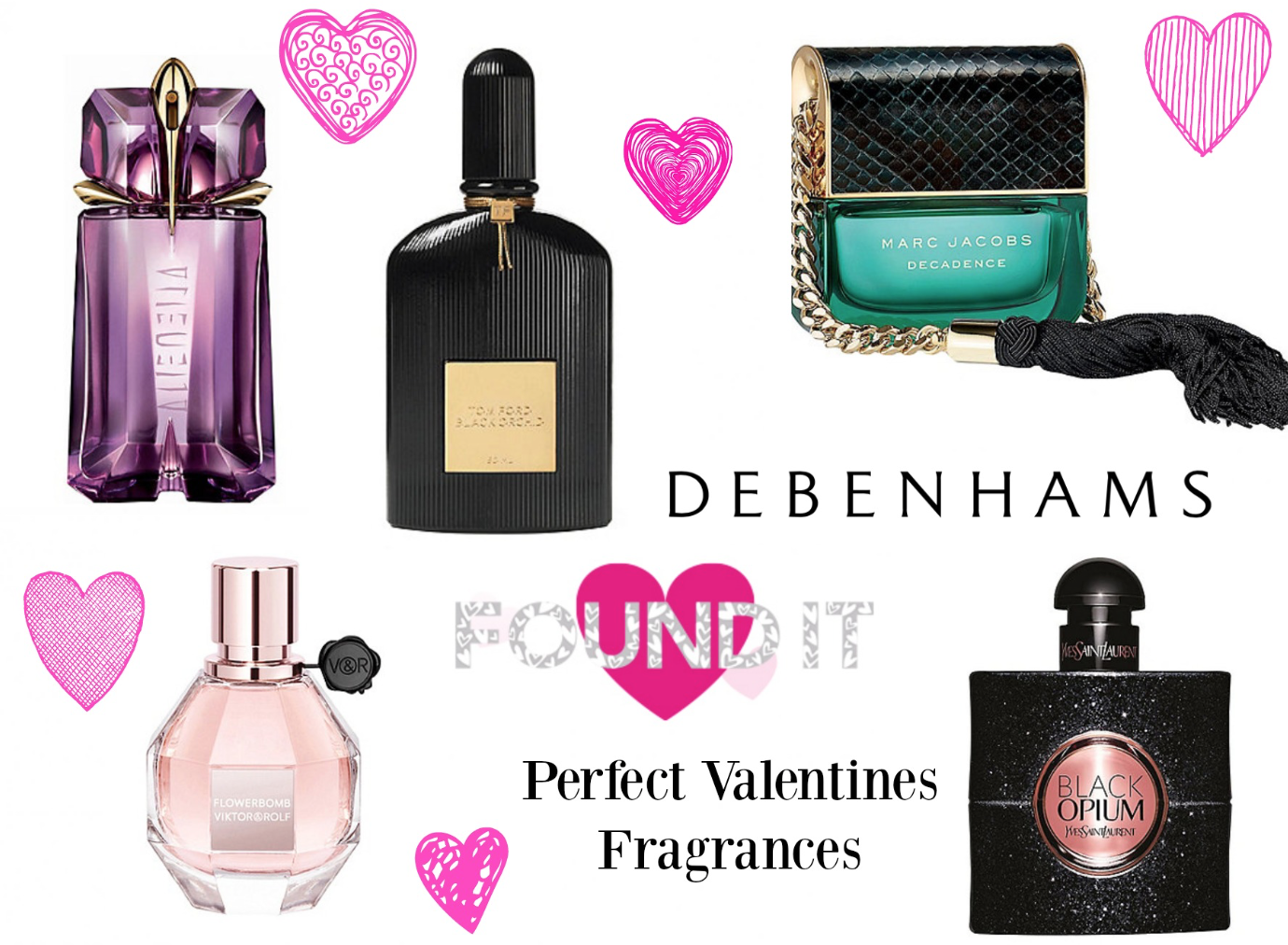 Find Your Perfect Valentine's Gift with Debenhams