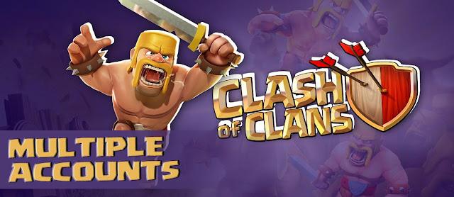 Cara Main Clash of Clans di Satu Android Dengan Banyak Akun