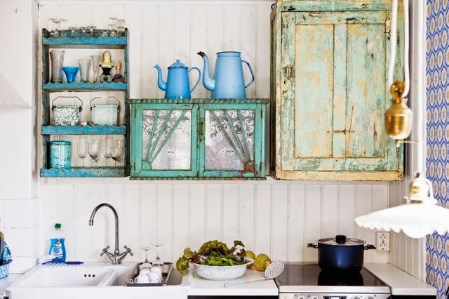 El jardin de los muffins blog de decoraci n vintage y - Decoracion vintage cocina ...