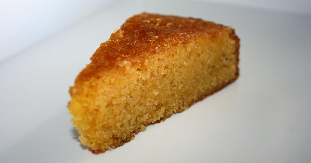 Polenta Orange And Almond Cake