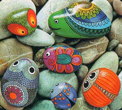 rock painting ideas for home decor