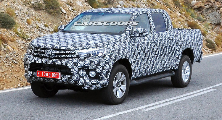 Scoop This Is The New 2015 Toyota Hilux Pickup Truck