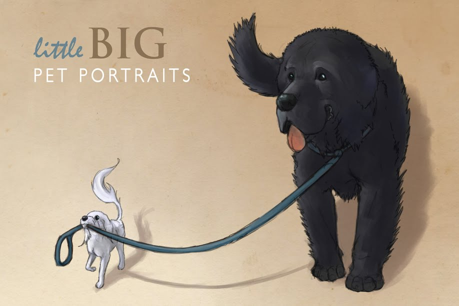 little BIG Pet Portraits