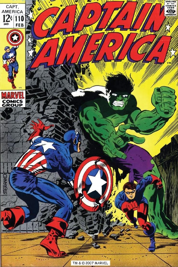Captain America #110 image