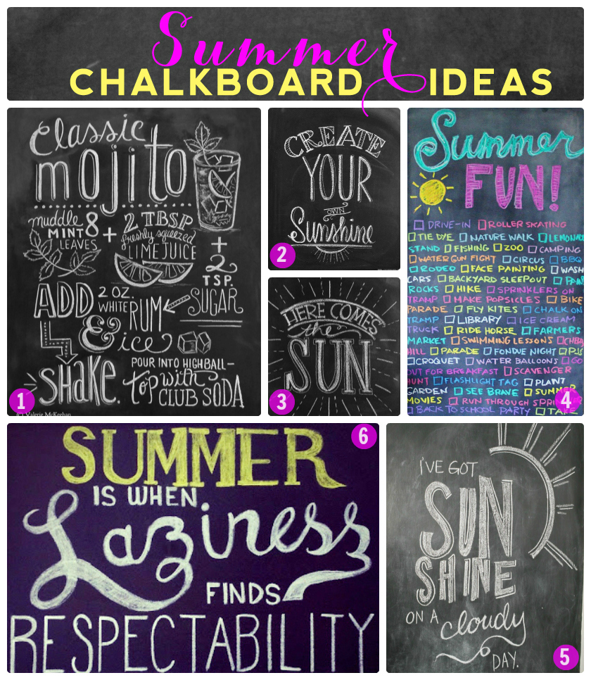 chalkboard banners ribbons clip art hand drawn chalk diy