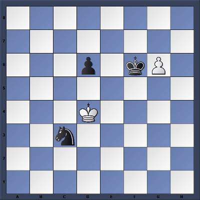 Echecs et Strategie : Les Noirs jouent et gagnent