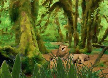 YouuGames Forest Lion Escape Walkthrough