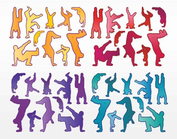 Free Urban Dancers Vectors