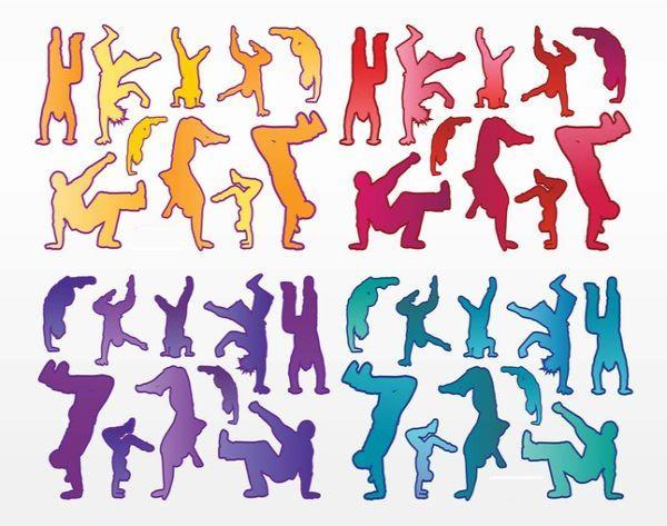 Free Urban Dancers Vectors