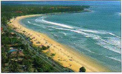 kuta beach area